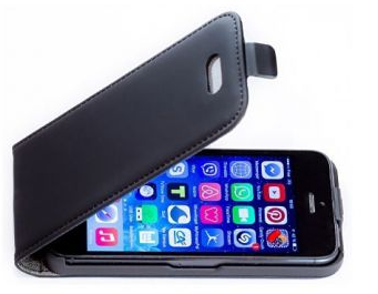 Autre exemple de protection Kokoon Protect : son étui iphone 5 anti ondes et anti chocs