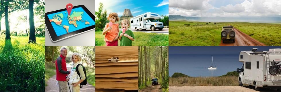 Surveillance camping car